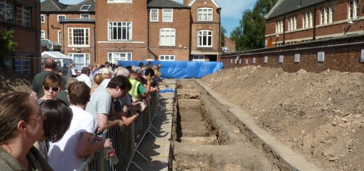 Leicester_Greyfriars_dig,_trench_2